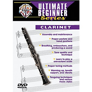 Warner-Bros-Ultimate-Beginner-Series-Clarinet--DVD--Standard