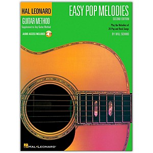 Hal-Leonard-Easy-Pop-Melodies---2nd-Edition-Guitar-Tab-Songbook-with-CD--Standard