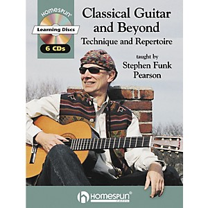 Homespun-Classical-Guitar-and-Beyond--Book-CD--Standard