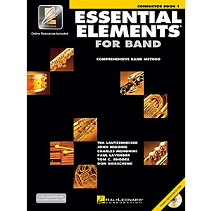 Hal-Leonard-Essential-Elements-Teacher-s-Manual-Conductor-s-Score-Book-1-with-CD-ROM-Standard