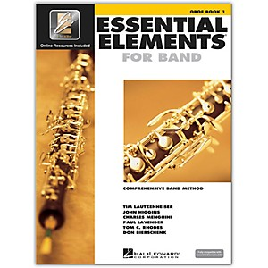 Hal-Leonard-Essential-Elements-For-Band---Oboe-Book-1-with-EEi--Book-CD-ROM--Standard