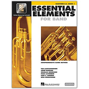 Hal-Leonard-Essential-Elements-For-Band---Baritone-BC-Book-1-With-EEi--Book-CD-ROM--Standard