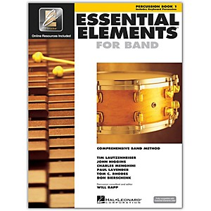 Hal-Leonard-Essential-Elements-For-Band---Percussion-Book-1-With-EEi--Book-CD-ROM--Standard
