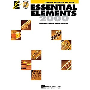 Hal-Leonard-Essential-Elements-Teacher-s-Resource-Kit-Book-1-with-CD-ROM-Standard