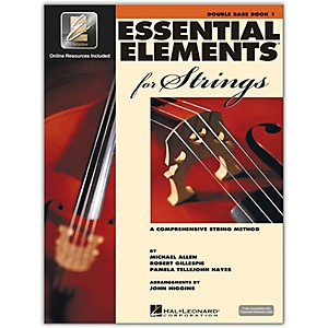 Hal-Leonard-Essential-Elements-For-Strings---String-Bass-Book-1-With-EEi--Book-CD-ROM--Standard