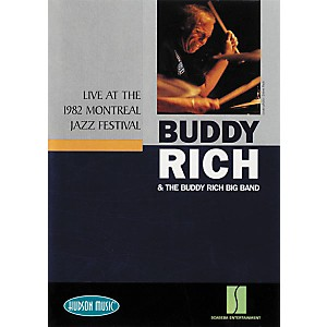 Hudson-Music-Buddy-Rich-Live-at-1982-Montreal-Jazz-Festival--DVD--Standard