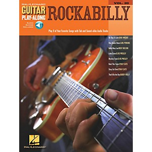 Hal-Leonard-Rockabilly-Guitar-Play-Along-Series-Volume-20-Book-with-CD--Standard