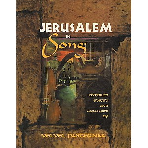Tara-Publications-Jerusalem-In-Song-Book-with-CD--Standard