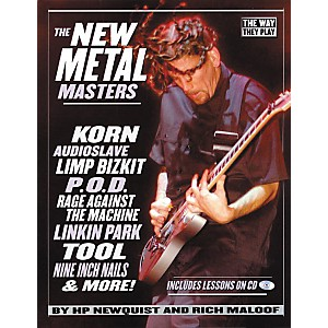 Backbeat-Books-The-New-Metal-Masters--Book-CD--Standard