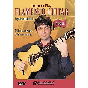 Homespun-Learn-to-Play-Flamenco-Guitar-2-Video-Set--DVD--Standard