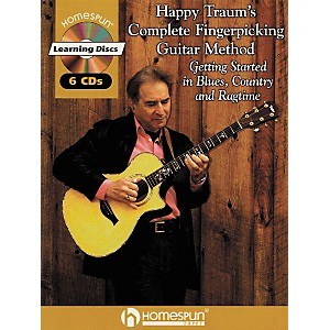 Homespun-Happy-Traum-s-Fingerpicking-Method-CD-Set-Standard