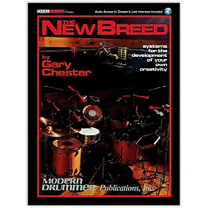 Modern-Drummer-The-New-Breed---Systems-For-The-Development-of-Your-Own-Creativity-Book-CD-Standard