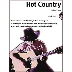 Sanctuary-Hot-Country--A-Comprehensive-Guide-To-Lead-And-Rhythm-Country-Guitar-Playing-Book-and-CD-Standard