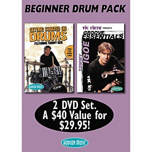 Hudson-Music-Tommy-Igoe--Getting-Started---Groove-Essentials--DVD-2-Pack--Standard