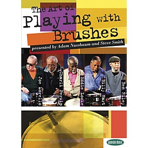 Hudson-Music-The-Art-of-Playing-With-Brushes-2-DVDs-with-Play-Along-CD-and-Booklet-Standard