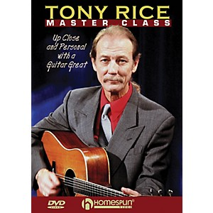 Homespun-Tony-Rice-Master-Class--Up-Close-and-Personal-with-a-Guitar-Great--DVD--Standard