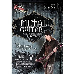 Rock-House-Metal-Guitar--Melodic-Speed--Shred---Heavy-Riffs-Level-1-With-Alexi-Laiho-of-Children-of-Bodom-DVD-Standard