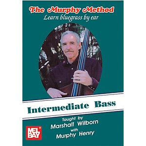 Mel-Bay-Intermediate-Bass---Learn-Bluegrass-by-Ear-DVD-Standard
