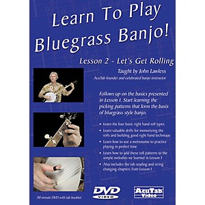 Mel-Bay-Learn-to-Play-Bluegrass-Banjo-DVD---Lesson-2--Let-s-Get-Rolling-Standard
