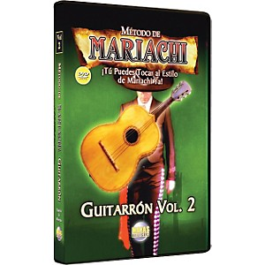 Mel-Bay-Metodo-De-Mariachi-Guitarron-DVD--Volume-2---Spanish-Only-Standard