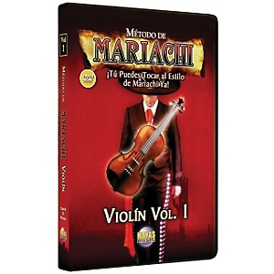 Mel-Bay-Metodo-De-Mariachi-Violin-DVD--Volume-1---Spanish-Only-Standard