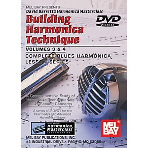 Mel-Bay-Building-Harmonica-Technique-Volumes-3---4-DVD-Standard