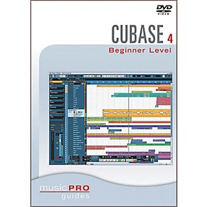Hal-Leonard-Cubase-SX-4-0-Beginner-Level-DVD-Music-Pro-Guide-Series-Standard