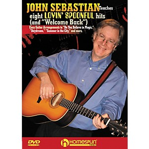 Homespun-John-Sebastian-Teaches-Eight-Lovin--Spoonful-Hits-for-Guitar-DVD-with-Tab-Standard