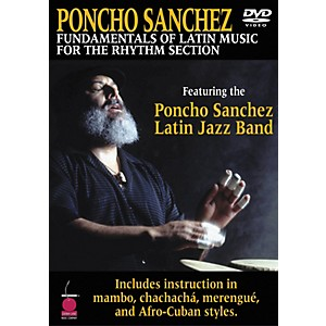 Cherry-Lane-Poncho-Sanchez---Fundamentals-of-Latin-Music-for-the-Rhythm-Section-DVD-Standard