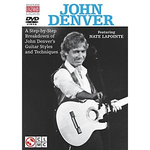 Cherry-Lane-John-Denver-Legendary-Licks-for-Guitar-DVD-Standard