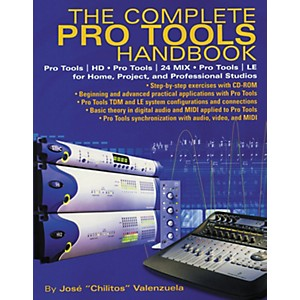 Hal-Leonard-The-Complete-Pro-Tools-Handbook--with-CD-ROM--Standard