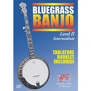 Specialty-Music-Productions-Bluegrass-Banjo-Level-II-Intermediate--DVD--Standard