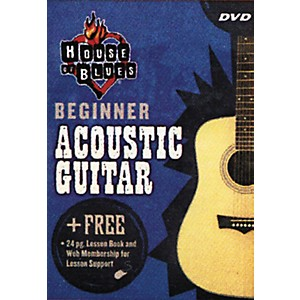 House-of-Blues-Beginner-Acoustic-Guitar--DVD--Standard