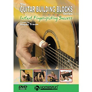 Homespun-Happy-Traum-s-Guitar-Building-Blocks--Fingerpicking-3--DVD--Standard