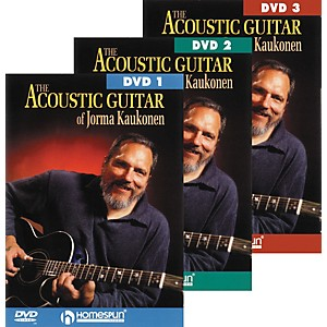 Homespun-Acoustic-Guitar-Jorma-Kaukonen-3-DVD-Set-Standard