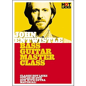 Hot-Licks-John-Entwistle-Bass-Guitar-Master-Class--DVD--Standard