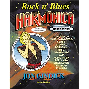 Music-Sales-Rock-N--Blues-Harmonica--Book-CD--Standard