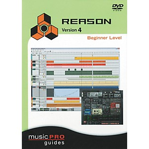 Hal-Leonard-Reason-4-Beginner-Level---Music-Pro-Series--DVD--Standard