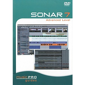 Hal-Leonard-SONAR-7-Advanced-Level---Music-Pro-Series--DVD--Standard