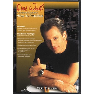 Carl-Fischer-Dave-Weckl-How-to-Practice-Drum-DVD-Standard