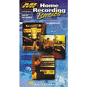 Hal-Leonard-Home-Recording-Basics--VHS-Video--Standard