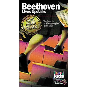 Children-s-Book-Store-Beethoven-Lives-Upstairs-VHS-Video-Standard