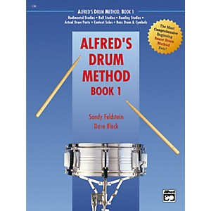 Alfred-Alfred-s-Drum-Method--Book-1-Standard