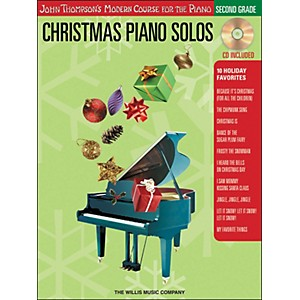 Willis-Music-John-Thompson-s-Modern-Course-for-the-Piano---Christmas-Piano-Solos-Second-Grade-Book-CD-Standard