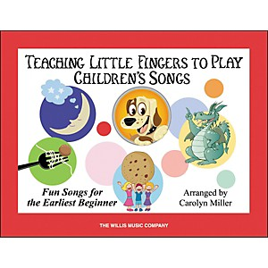 Willis-Music-Teaching-Little-Fingers-To-Play-Children-s-Songs-Book-Standard