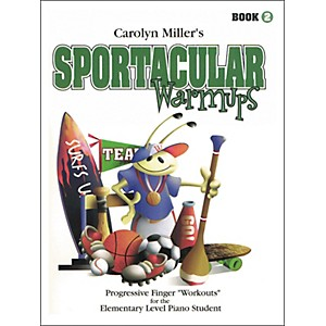 Willis-Music-Sportacular-Warmups-Book-2-Progressive-Finger--Workouts--Elementary-Level-Standard