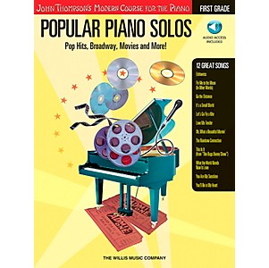 Willis-Music-John-Thompson-s-Modern-Course-For-The-Piano---Popular-Piano-Solos-First-Grade-Book-CD-Standard