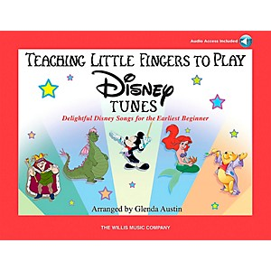 Willis-Music-Teaching-Little-Fingers-To-Play-Disney-Tunes-Book-CD-Standard