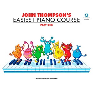 Willis-Music-John-Thompson-s-Easiest-Piano-Course-Part-1-Book-CD-Standard