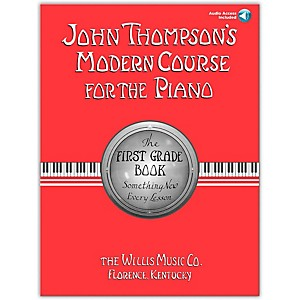 Willis-Music-John-Thompson-s-Modern-Course-For-The-Piano-Grade-1-Book-CD-Standard